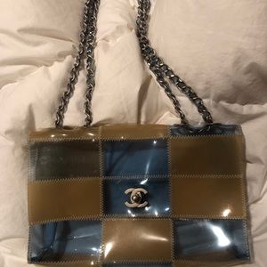 Chanel Translucent Medium Size Vintage Classic Bag